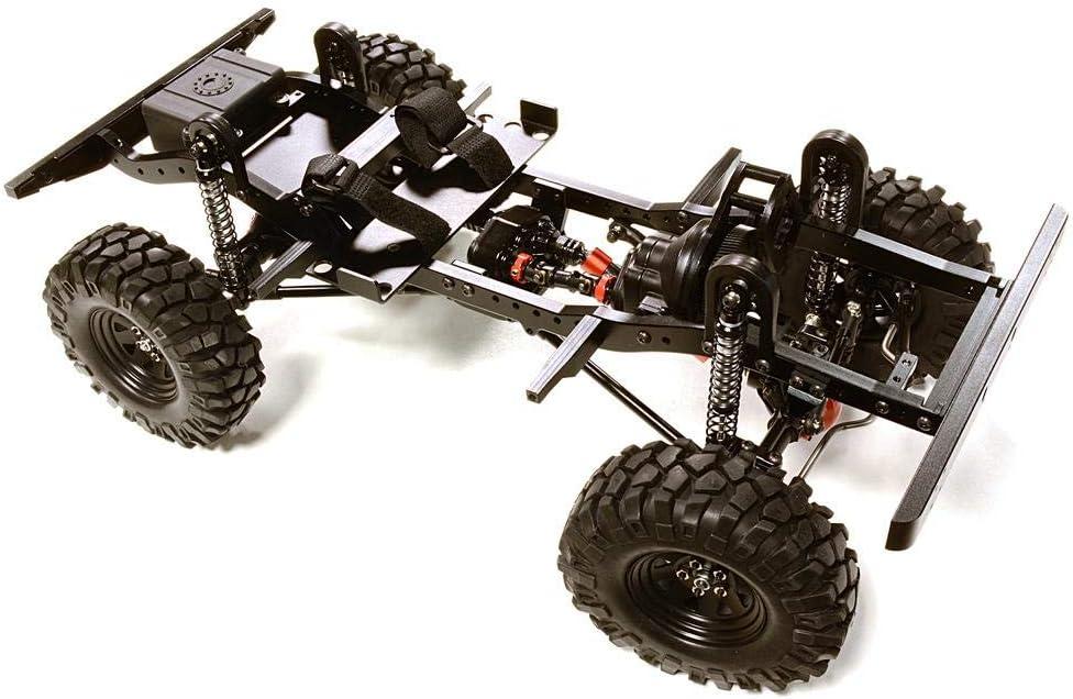 Integy RC Model Hop-ups C27376BLACK Billet Machined 1/10 D90 Gen-2 Roller 4WD Off-Road Scale Crawler ARTR: Amazon.es: Juguetes y juegos