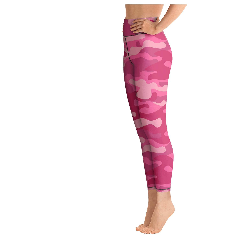 Red Urban camo Fitness Wandering Yoga Shorts for Women Girls