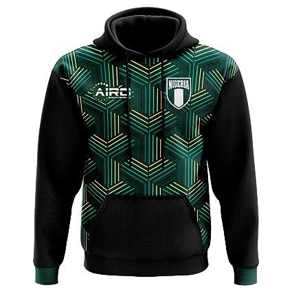 532680eda Amazon.com   Airo Sportswear 2018-2019 Nigeria Third Concept Football Hoody    Clothing