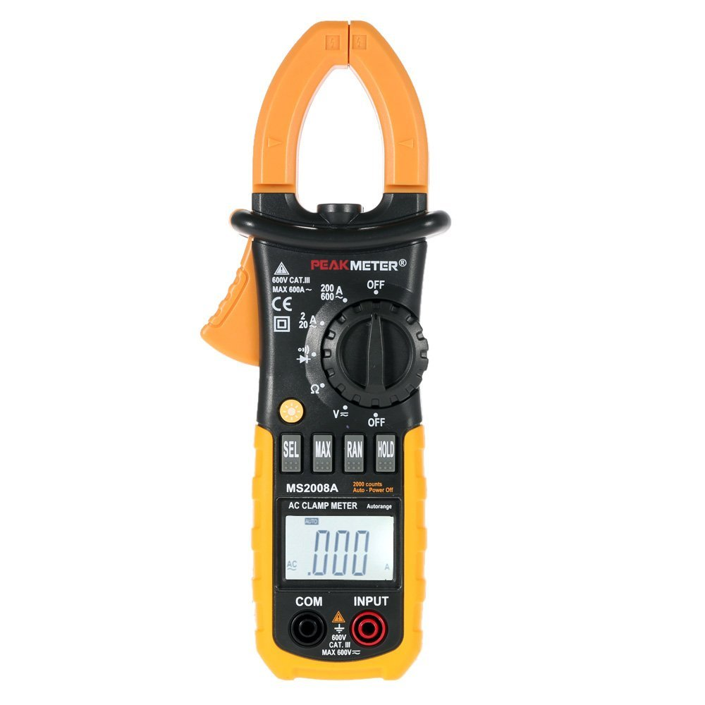 KKmoon MS2008A Profesional Digital Clamp Meter AC Multí metro Digital Cuentas 2000 Anself