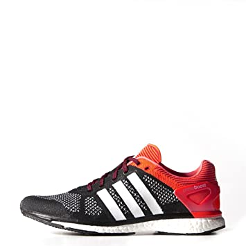 new product ed383 1c1c8 adidas Performance ADIZERO PRIME BOOST Black Orange Men Running Shoes  PrimeBoost Torsion System