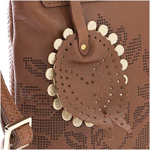 Mujer Leather Crossbody 1021493 en for de Honey Women Genuine Handbags Cuero Carteras Velez Fxwd8OO