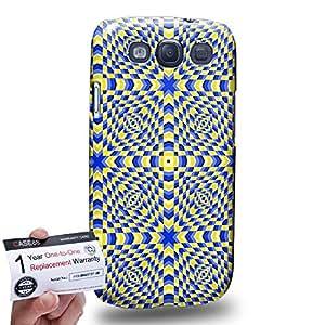 Case88 [Samsung Galaxy S3] 3D impresa Carcasa/Funda dura para & Tarjeta de garantía - Art Fashion Visual Art Effect 1