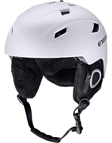 enkeeo casco  : Caschi - Sci: Sport e tempo libero