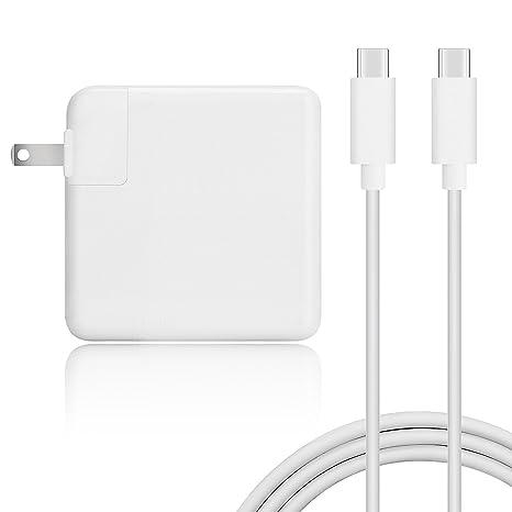 Amazon.com: 61W USB-C(PD) Cargador Adaptador de Alimentación ...