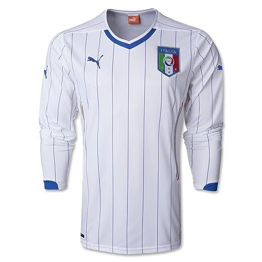 Amazon.com  PUMA Italia Long Sleeve Away Jersey 2014  Clothing be5f591e5