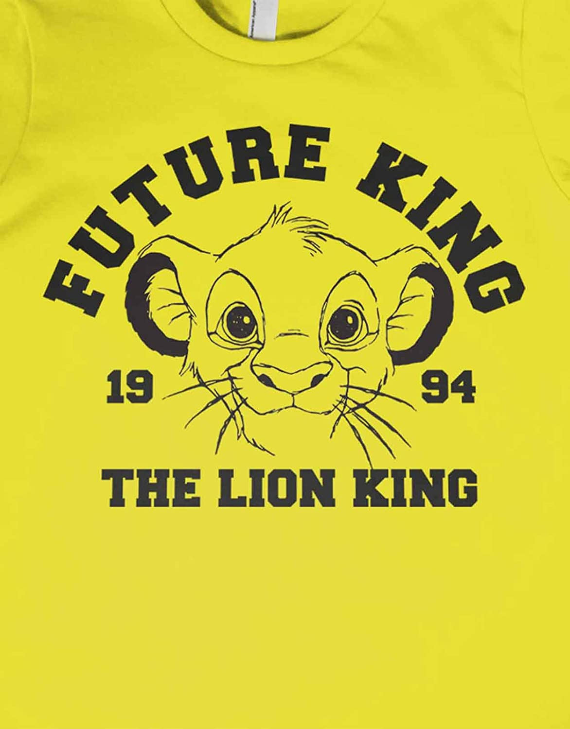 Amazoncom The Lion King Kids T Shirt Simba The Future King