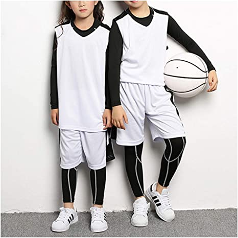 STARINN - Conjunto de Camiseta de Baloncesto para niños y niñas ...