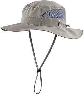 75d191dd Magracy Unisex Outdoor Wide Brim Sun Hat Summer Bucket Fishing Hats UV  Protection…