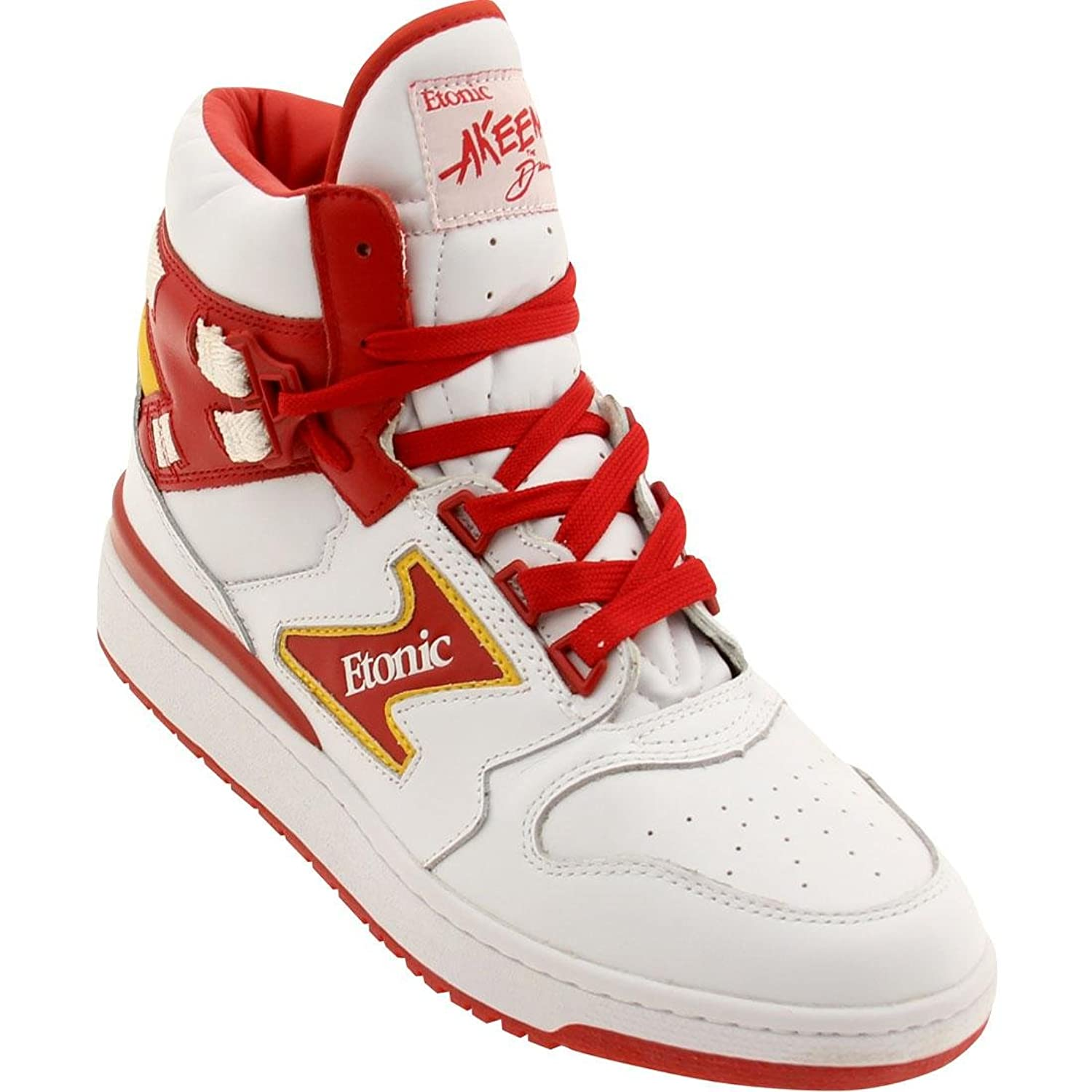 bc7f71980a40 Etonic Akeem the Dream Men s Shoes White Red Yellow EML14F-01 30%OFF ...