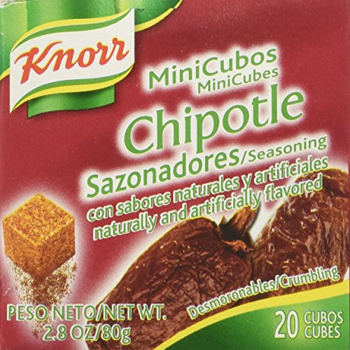 Knorr Chipotle 20 Mini Cubes, 2.8 Oz. (Pack of 4) ()