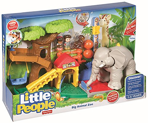 Learning Zoo (Fisher-Price Little People Big Animal Zoo)