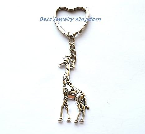 Llavero, diseño de jirafa jirafa cuello jirafa llavero ...
