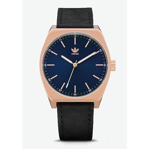 Adidas Reloj Analógico para Hombre de Cuarzo con Correa en Cuero Z05-2967-00: Amazon.es: Relojes