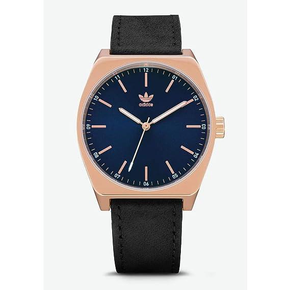 Adidas Reloj Analógico para Hombre de Cuarzo con Correa en Cuero Z05-2967-00