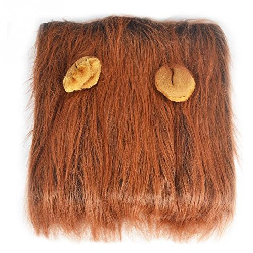 [Lion Mane Fancy Dress Costume for Dogs. Fun Pet Apparel for Parties and Halloween (Medium)] (Quick Cute Homemade Costumes Ideas)
