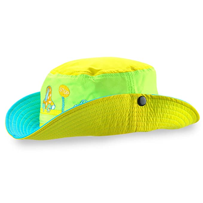 9eb9df01f5c Adjustable Sun Hat Kids Bucket Quick Dry Summer Fishing Cartoon Cap Boy  Girl Panama Hat Infant