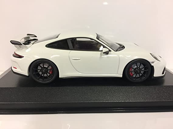 Minichamps - Porsche - 911/991 GT3 - 2016 Coche de ferrocarril de Collection, 410066025, Color Blanco: Amazon.es: Juguetes y juegos