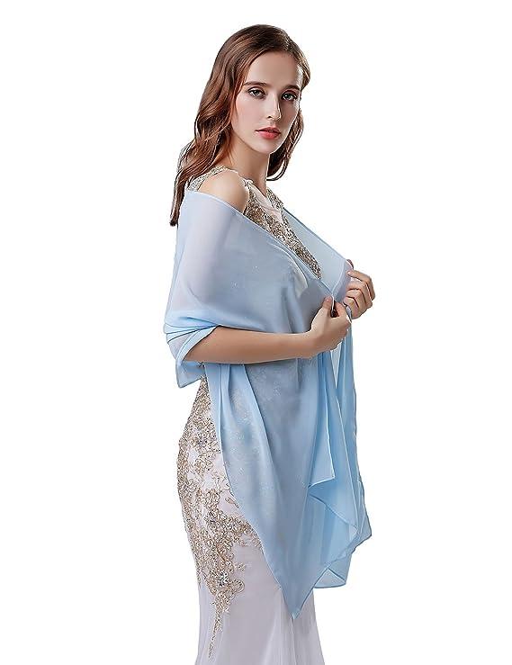 Sarahbridal Womens Elegant Chiffon Cape Brides Bridal Shrug Wrap Wedding Bolero Jacket Stole Shawl Coats S17022: Amazon.co.uk: Clothing
