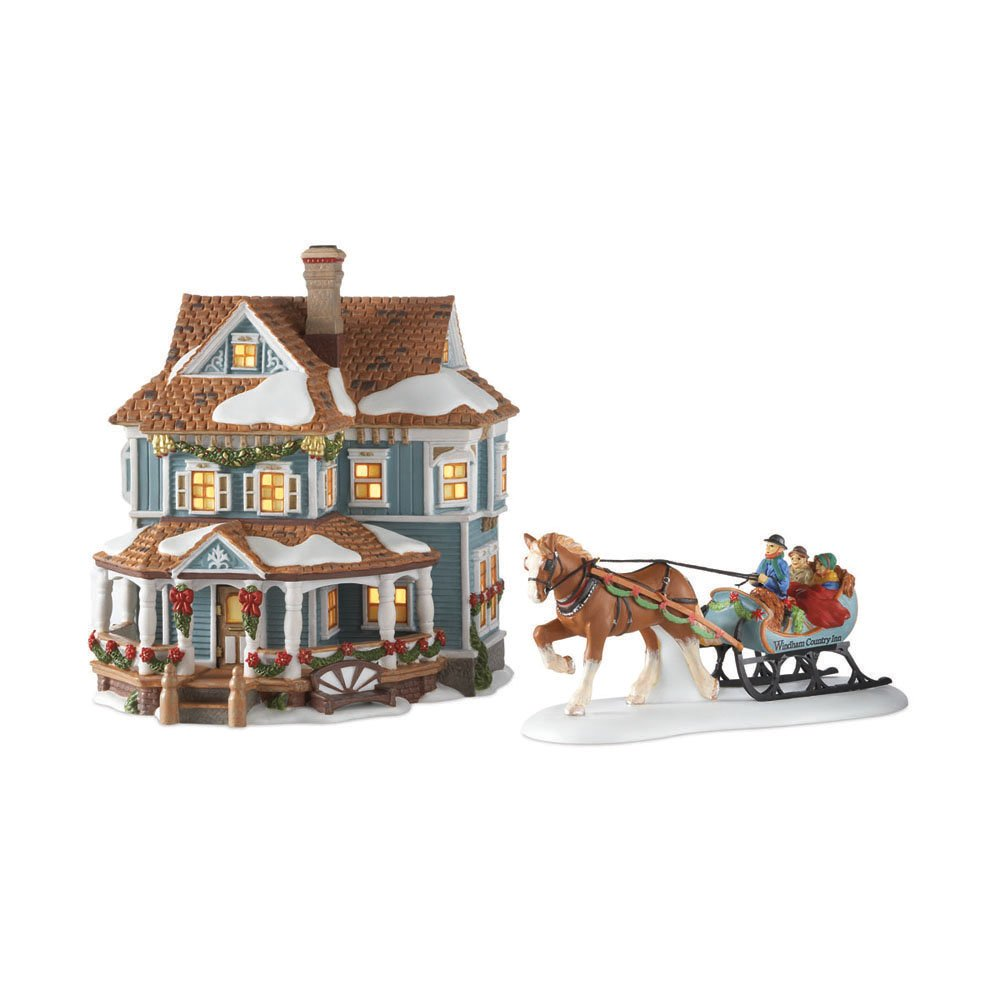 Department 56 New England Village Welcome To Windham Country Inn