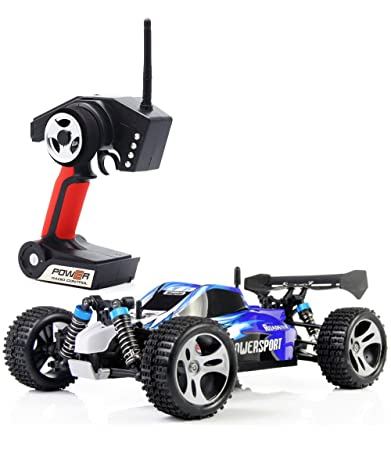 Buy Tozo Rc Car 32 Mph 4x4 Fast Race Cars 1 18 4 Wd Buggy W 2 4 G Radio Remote Control Off Road Truck Powersport Roadster Blue Online At Low Prices In India Amazon In