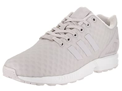 finest selection 0c7a9 3b204 adidas Originals Women s zx Flux w Running Shoe Pearl Grey White, ...