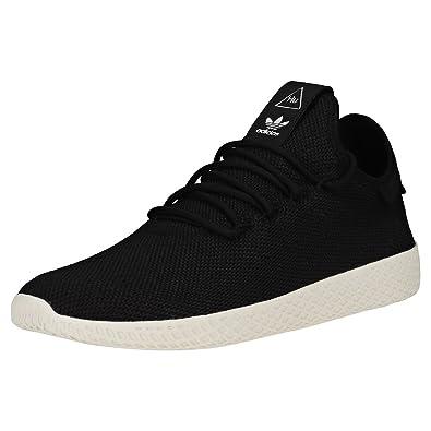 Adidas Pharrell Williams Tennis Hu Herren Sneaker Schwarz Amazon De