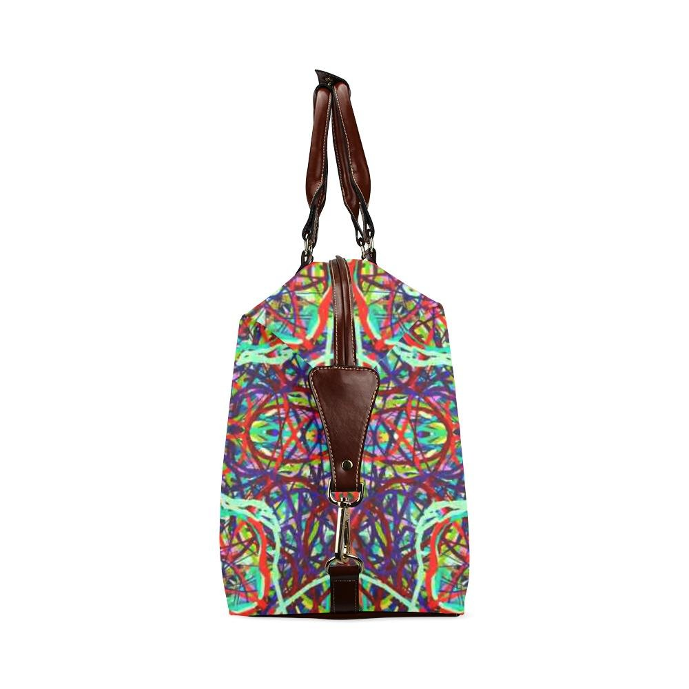 Remake Model 1643 Thleudron Womens Turtles Classic Travel Bag
