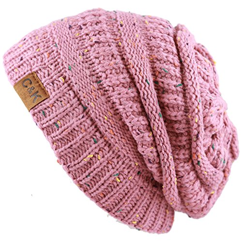 Fashionable Pink Womens Hat - 4
