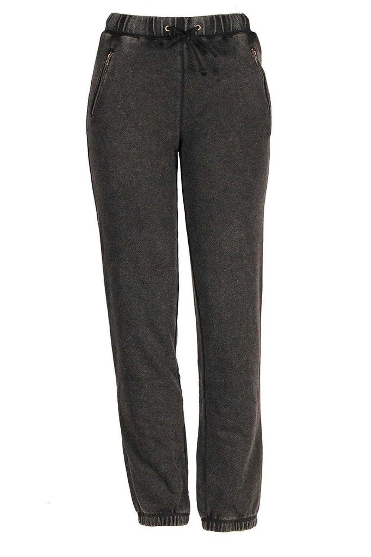 Hem & Thread Charcoal Grey Jogger Pants