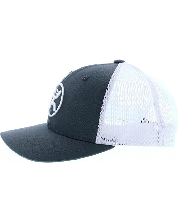 separation shoes cd59a a6e83 HOOey Men s Cody OHL Trucker Cap Grey One Size at Amazon Men s Clothing  store