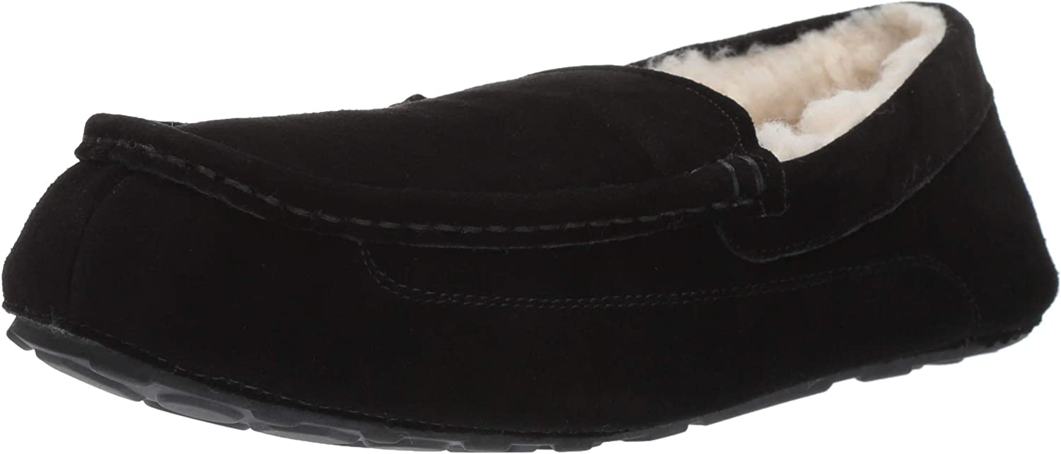 Leather Moccasin Slipper
