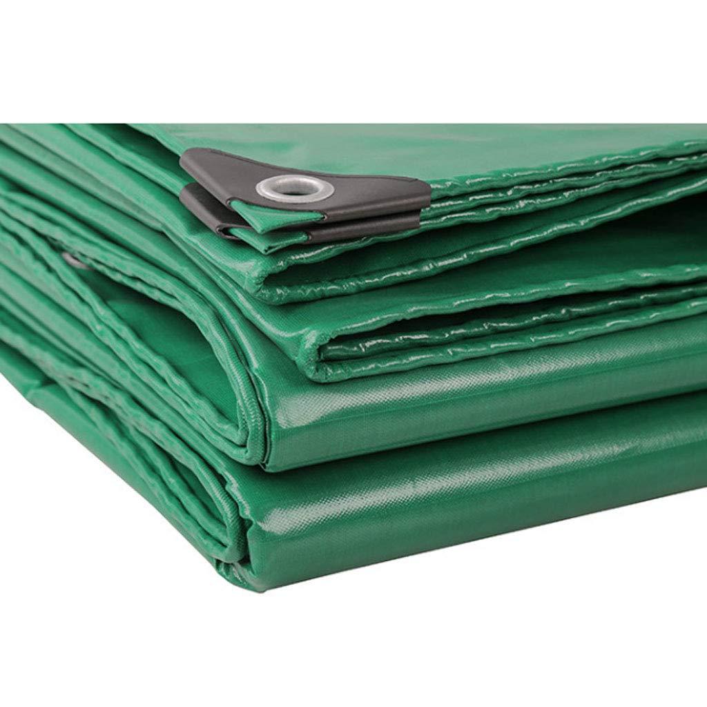 WSGZH LKW-Plane Dickes Linoleum Regenfestes Tuch Für Den Außenbereich Markise Doppelte Wasserdichte Sonnenschutz-Leinwand PVC-Beschichtetes Tuch Dicke 0,32 Mm 350g-450g M²