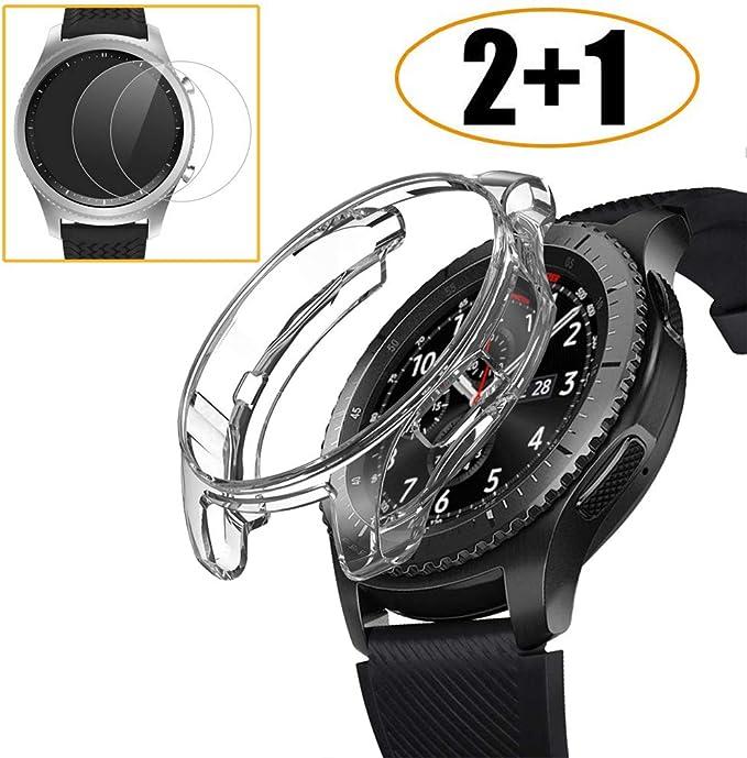 Carcasa para Samsung Galaxy Watch de 46 mm con Protector de ...