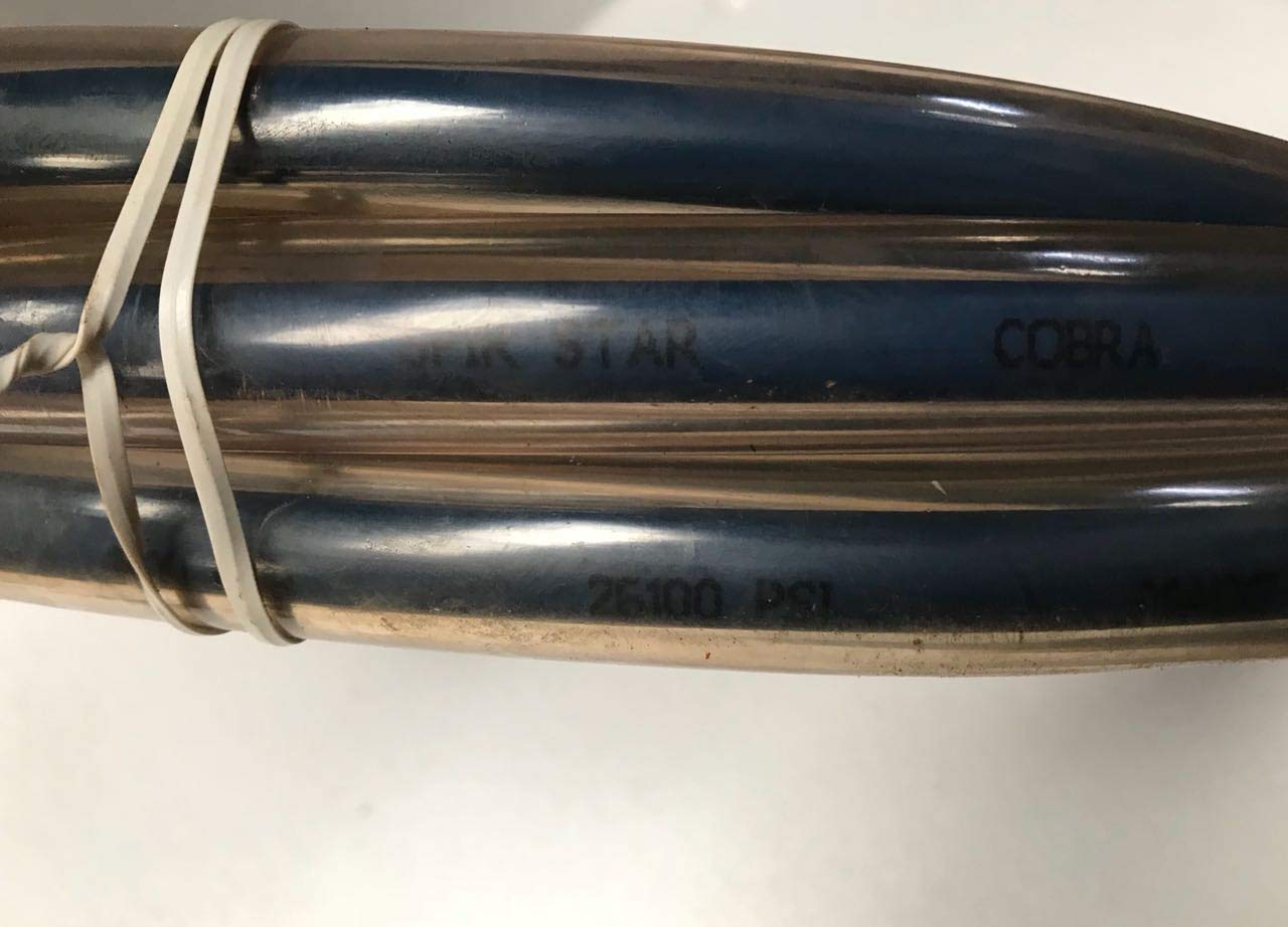 26100 PSI Spir Star High Pressure Hydraulic Hose 15 FT WP 180 MPa//1800 Bar