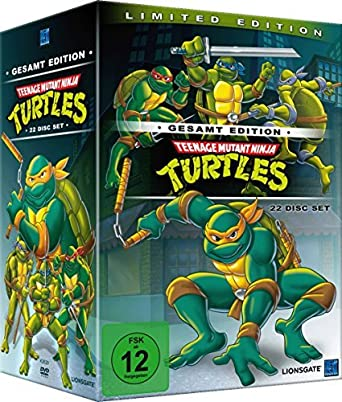 Teenage Mutant Ninja Turtles Gesamt Edition DVD by Rob ...