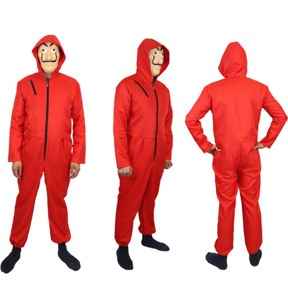 Amazon.com: COSKING Dali Costume for La Casa De Papel ...