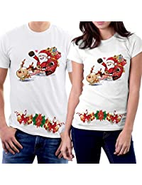 Winter Christmas T-shirts Collection Style 01 for Couple