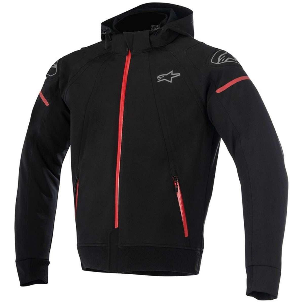 Alpinestars Sektor Tech Hoodie Black Red XXL Black 1693680105