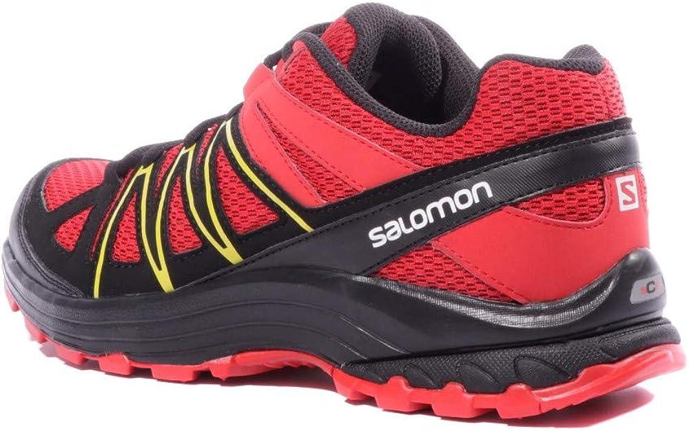 Salomon XA Bondcliff Homme Chaussures Running Rouge Noir