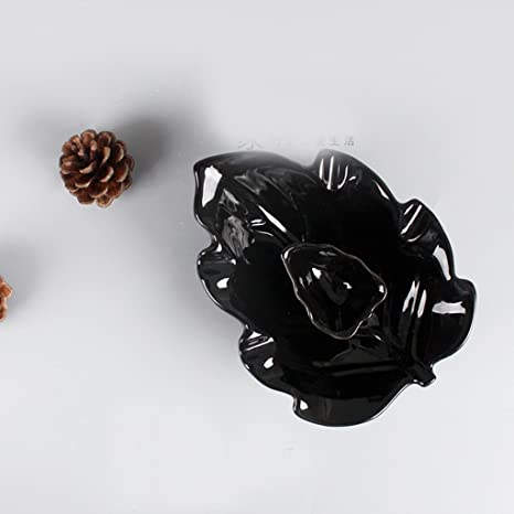 De Estilo Europeo cenicero de cerámica Creativa Personalidad Sala de Estar de Manera Simple Gran Viento