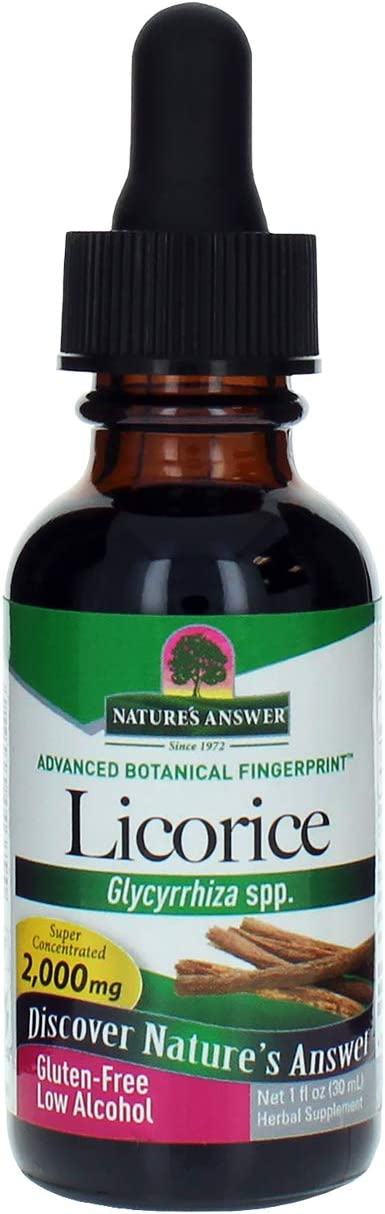 Licorice Root Extract Nature s Answer 1 oz Liquid