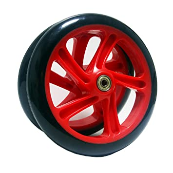Amazon.com: Z-FIRST - 2 ruedas de 7.874 in para patinete de ...