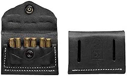 Ammo Cartridge Pouch 38 357 Leather