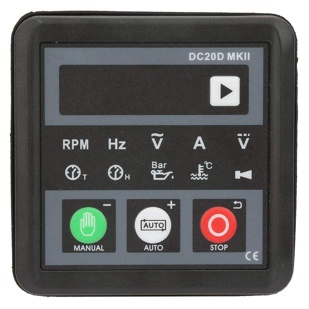 DC20D MKII Electronic Generator Controller Module Control Panel for Diesel Engine or Generator Generator Control Panel