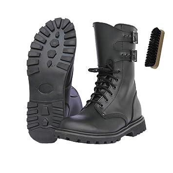 Französische Kampfstiefel Legionärsstiefel + AOS Outdoor® Schuhbürste