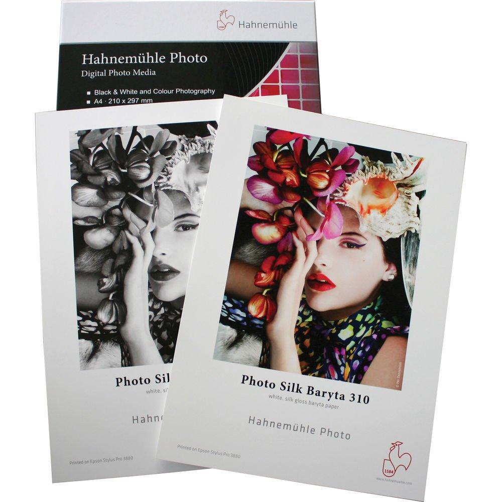 Hahnemuhle HMP0613025 Photo Silk Baryta 13x19//25 Sheet