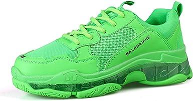 QYQ Zapatos de hombre, zapatos con cordones para jóvenes y ...