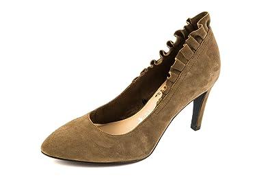 Tamaris Damen Pumps Grau Taupe Gr. 37: : Schuhe