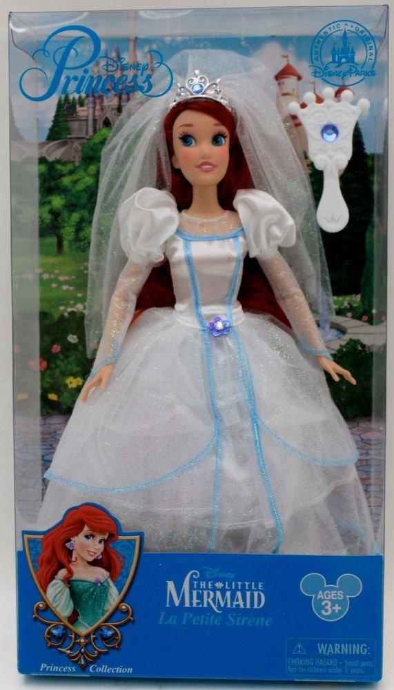 Disney, Little Mermaid Ariel, Barbie Style Classic Wedding Dress ...